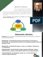 Taxonomía de Los Objetivos de La Educación. Expo