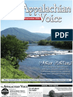 August-September 2009 Appalachian Voice Newsletter
