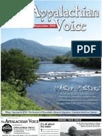 August-September 2009 Appalachian Voice Newsletter