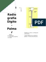 Análisis de Radiografía Digital Carpal
