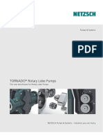 Tornado Lobe Pump Brochure
