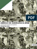 CONCURSO ABRIGO EMERGENCIAL