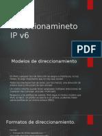 Direccionamineto IP v6 Version 1