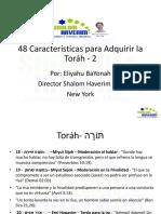48 caracteristicas de Torah 2.pdf