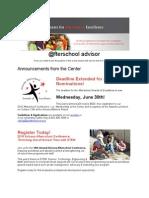 Arizona Center for Afterschool Excellence - @fterschool Advisor, June 17, 2010