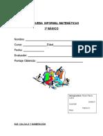 PRUEBA  INFORMAL matematica tercero basico.docx