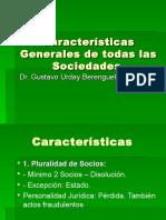 3. Caracteristicas de La Sociedades