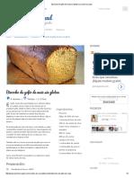 Bizcocho de Gofio de Maiz Sin Gluten _ La Encimera Azul