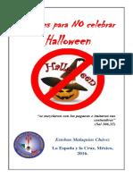 Razones Para NO Celebrar Halloween