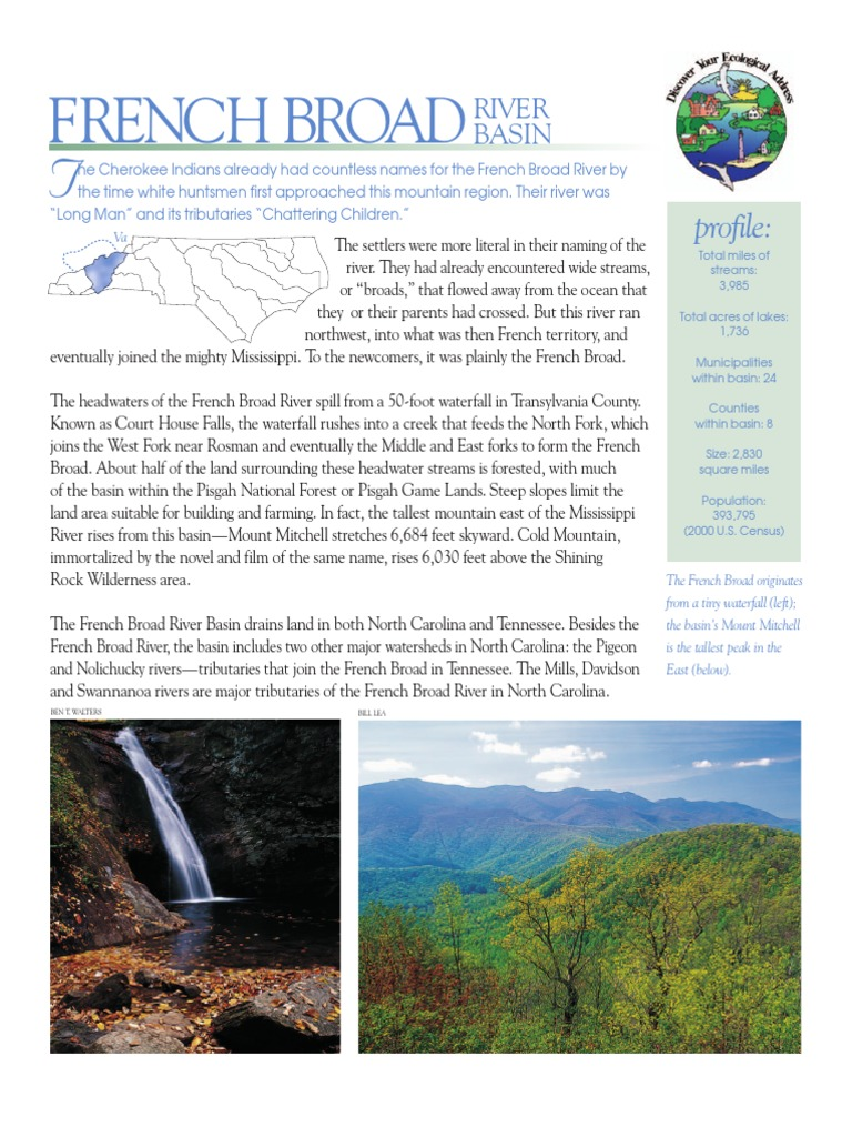 Save the FRENCH BROAD RIVER BASIN | Trail | River