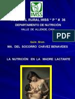 Nutrición en La Madre Lactante