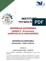 DOC Unidad v. Escenario Modificado de La Sustentabilidad.