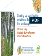 Scaling up certification solutions throughout the landscape