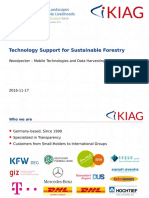 Technology support for sustainable forestry