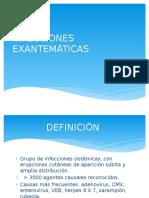INFECCIONES EXANTEMATICAS (1)