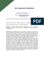 Criptografia - Segurança de Computadores