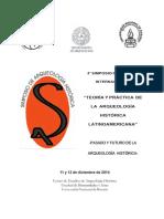 IVº Simposio Arqueología Histórica .Rosario .2014 Volpe.Ponencias  Arqueología Urbana de Rosario