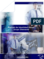Manual de Identidad Visual Grupo Diamante - Maria Reneé Vila Gutierrez - Upsa