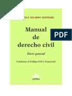 Manual de Derecho Civil - Roitbarg - 2016