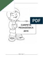 Carpeta Pedagogica Inicial 4 Años 2015