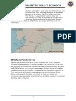 Frontera Entre Peru y Ecuador