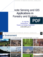 06 Nov 2015_RS GIS Applications in Forestry and Ecology_Dr. Arjit Roy
