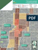 Draft Map for Morgan Junction Urban Village rezoning proposal