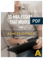50 Mba Essays That Worked Vol 3