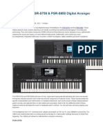 Multipad for Yamaha Tyros | Synthesizer | Computer File