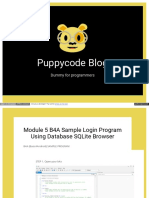 Puppycode Com Blog Index Php b4a Dummy for Programmers Modul