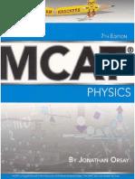 ExamKrackers MCAT General Physics Book