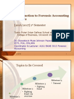 Introduction to Forensic Accounting Week 2