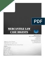 Case Digests - Mercantile Law