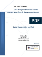 Global Warming Impacts - Social Vulnerability and Risk