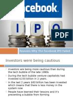 Facebook IPO Flop