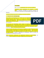 Teoria Eclectica de Gagne y Procesos de Informacion