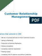 Customer Relationship Management-1