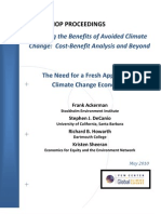 The Need for a Fresh Approach to Global Warming Economics
