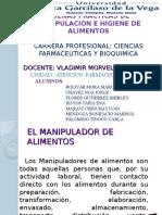 Bp de Manipulacion de Alimentos Atencion Farmaceutica Ultimo