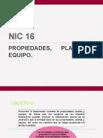 NIC 16 - C