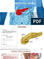 Diagnostico de Pancreatititis