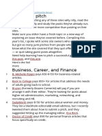 Writing Earning