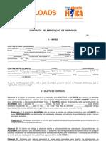 Modelo de Contrato Academia - Cliente