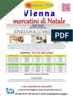 Mercatini Vienna Dicembre 2016