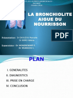 Bronchiolite Aigue Du Nourrisson Revue
