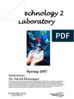 Biotech 2 Lab Manual