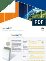 Isoclad PIR Panel Spec
