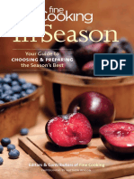 Fine Cooking in Season Your Guide to Choosing and Preparing the Season-s Best