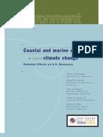 Marine EcosystemsCoastal and Marine Ecosystems and Global Warming