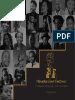 2016 Abantu Book Festival programme